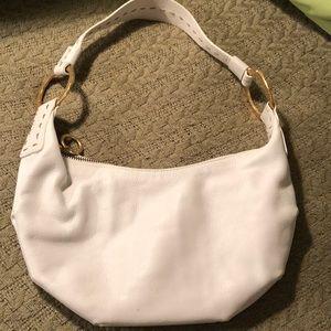 Sigrid Olsen excellent cond leather shoulder bag